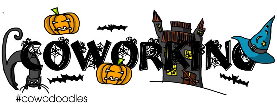 Coworking halloween