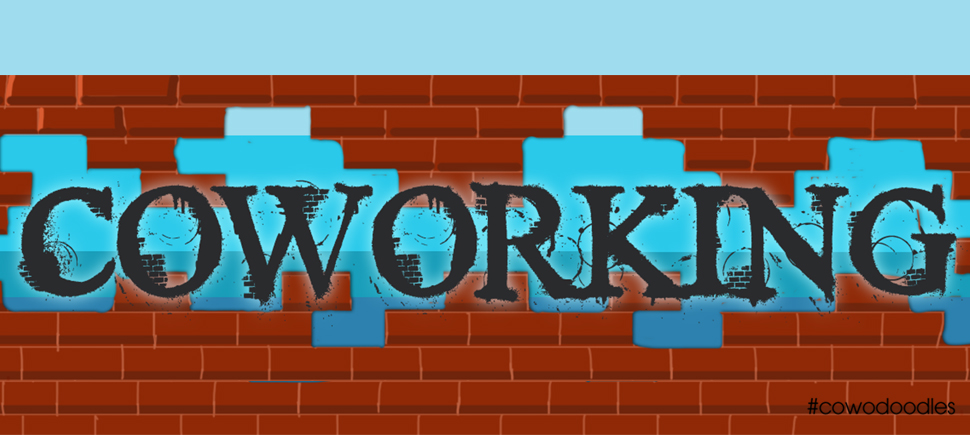 Break walls with #coworking